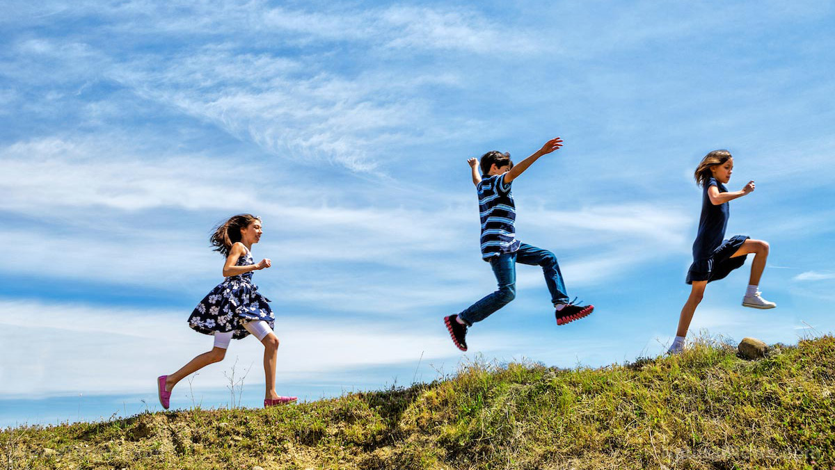 Dirt, germs, exercise, sunshine and fresh air: Outdoors is an adventure for kids that leads to a lifetime of good health