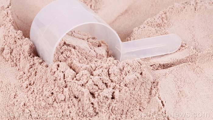 Whey protein helps with muscle weight gain